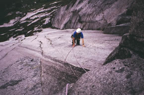 Rock Climbing / Etive Slabs
